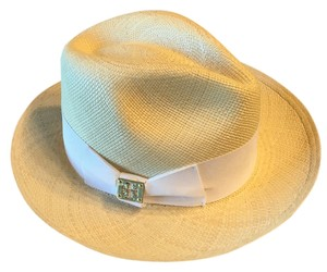 Tory Burch Classic Straw Fedora Hat - item med img
