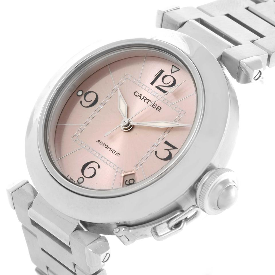Cartier Pink Pasha C Steel Dial Ladies W31075m7 Watch - Tradesy 9bbcd84a6