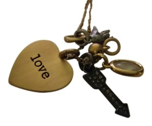 Juicy Couture Love Charm Necklace