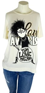 Love Moschino Gucci T Shirt Off White