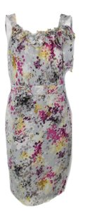 Ann Taylor LOFT Sheath Floral Size 4 Dress