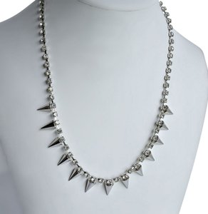 Other Silver Rhinestone Necklace 18
