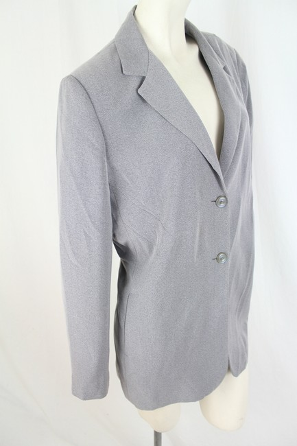 Larry Levine Grey Blazer