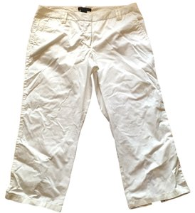 The Limited Capris Ivory