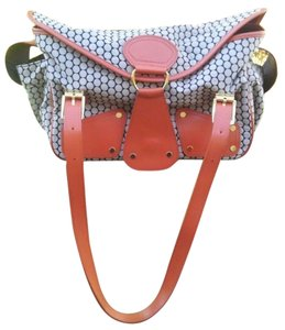 Mia Bossi Black and cherry Diaper Bag