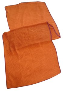Roffe Pumpkin Pleated Wrap/Scarf/Pareo by Roffe - [ Roxanne Anjou Closet ]