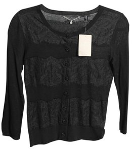 Anthropologie Button Down Shirt Black