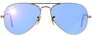 Ray-Ban Ray-Ban RB 3025 Classic Aviator Bronze Copper Frame Sunglasses Blue Mirror Lens