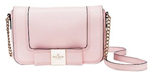 Kate Spade Pale Pink Gold Chain Cross Body Bag