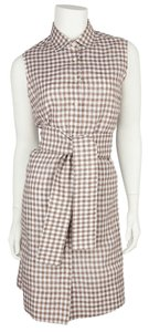 Hadleigh's short dress Brown & White Gingham on Tradesy