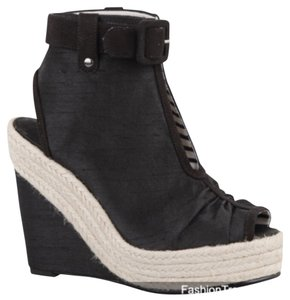 Isabel Toledo Black espadrille Wedges