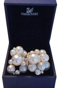 Swarovski Swarovski Diamond And Pearl Ring