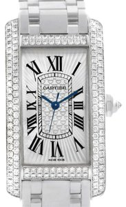 Cartier Cartier Tank Americaine 18K White Gold Diamond Limited Watch WB710001