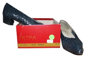 Petra Fashions Navy Pumps