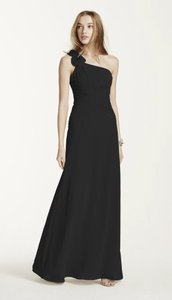 David's Bridal Black F14010 Dress