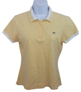 Lacoste Yellow Shirt Top