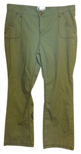 Levi's Straight Pants light olive green