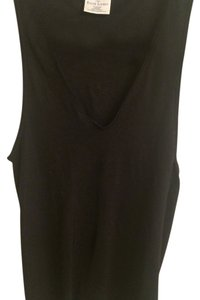 Ralph Lauren V-neck Sleeveless Casual Top Black
