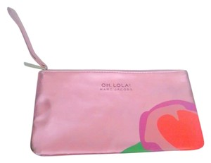 Marc Jacobs Wristlet in Metallic Pink,Purple,Green
