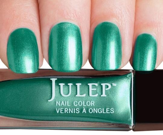 Julep Julep Nail Polish Phoebe New Vegan Blue Green Metallic Chrome Finish