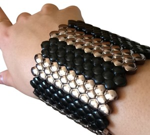 Other Black And Silver Cuff
