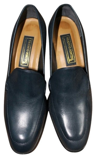 Franco Fortini Navy Pumps