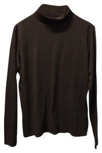 Eddie Bauer Turtleneck Longsleeve Top Brown