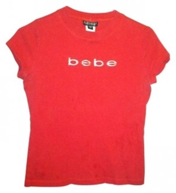 Preload https://item3.tradesy.com/images/bebe-red-t-shirt-tee-shirt-size-8-m-138092-0-0.jpg?width=400&height=650