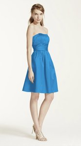 David's Bridal Cornflower 83312 Dress