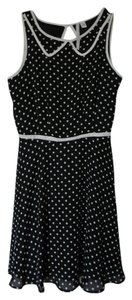LC Lauren Conrad Polka Dot Polyester Dress