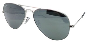 Ray-Ban Ray-Ban Aviator Sunglasses RB 3025 W3277 Silver Frames Mirrored Lenses