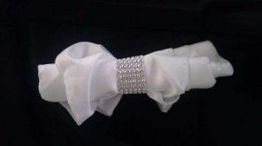 Veterans Day Sale Extended 250 For Six Row Rhinestone Napkin Rings Reception Decoration