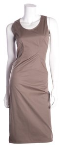 Salvatore Ferragamo short dress Brown on Tradesy