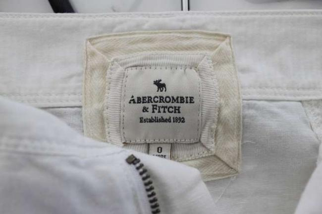 Abercrombie & Fitch Casual Cute And Mini Skirt white