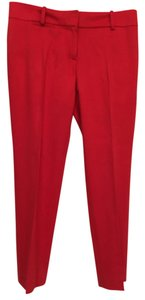 Ann Taylor Capri/Cropped Pants Red