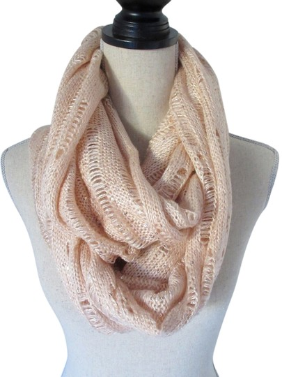 Express Sequinned Knit Infinity Scarf