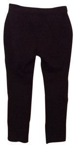 Coldwater Creek Straight Pants Dark Brown