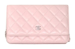 Chanel A33814 Quilted Woc Cross Body Bag
