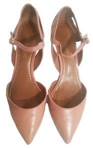 Enzo Angiolini Leather Pink Pumps