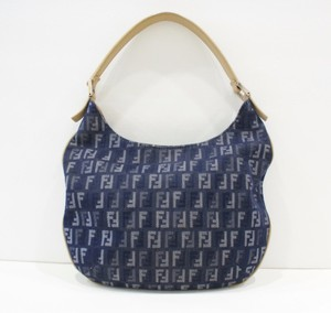 Fendi Denim Hobo Bag