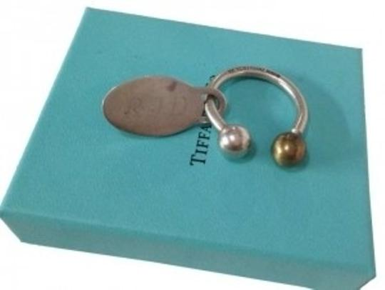 Tiffany & Co. Tiffany & Co Sterling Silver Key Ring with Tag Charm