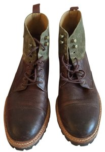 Cole Haan Brown, green Boots