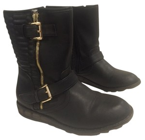 Dolce Vita Leather Boot Black Boots