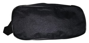 Other Black Unisex After Shave / Cosmetics / Toiletries / Travel Bag w Side Handle & Black Zipper Closure