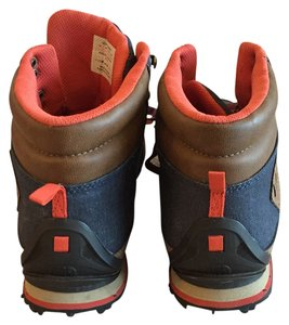 The North Face Navy blue, red, brown Boots