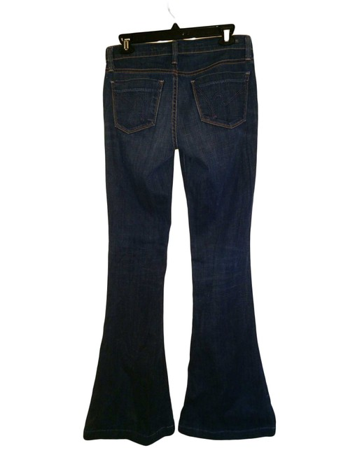 Citizens of Humanity Mid-rise Flare Leg Jeans-Medium Wash