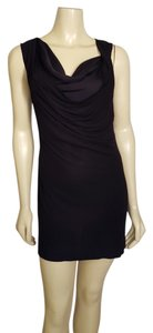 Theory short dress Black Mini Lantey Mini Size P Size 0 on Tradesy