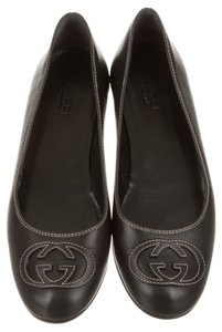 Gucci Black Flats