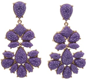 Amrita Singh Amrita Singh Real Housewives Crystal Nello Star Lilac Earrings Erc 202