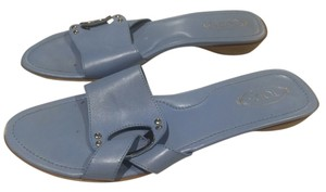 Tod's Periwinkle Sandals